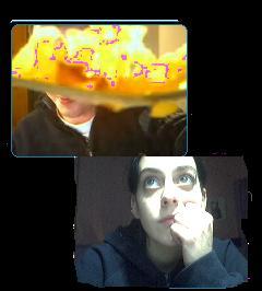 cammie doet soms gekke dingen hahah
