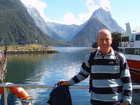 Milford souns in Nieuw Zeeland!