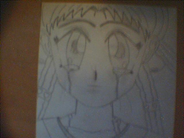 Één van mij tekeningen