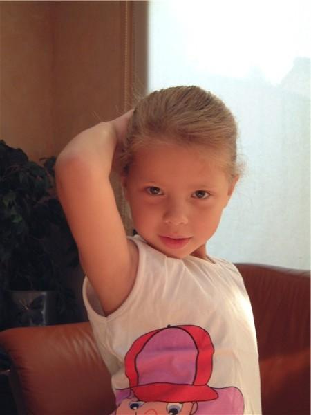 Mijn dochtertje Robynn