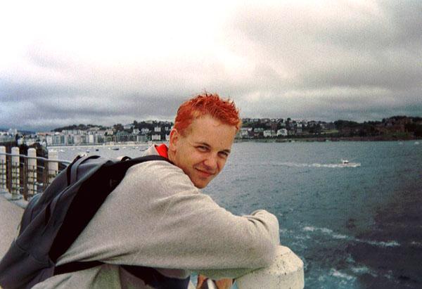 5 jaar terug, met rood haar, wtf!