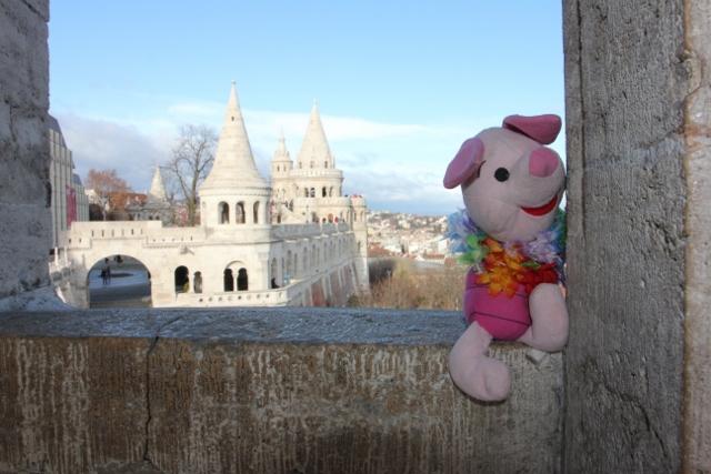 Knorretje in Budapest