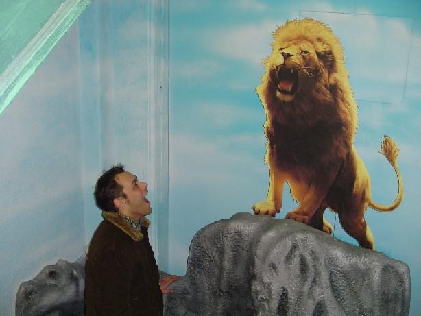 Creno meets Aslan
