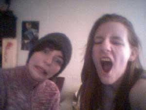 Ik en zusje, dement