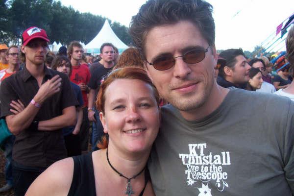 Peaceman en Diaan op Lowlands 2006