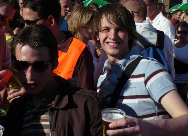 Koninginnedag in Leiden met Armin van Buuren