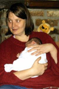 Foto met jongste dochter