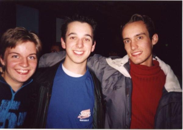 Ik, Bernard en Marcel :-)