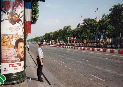 Intocht van de Tour de France 2002, Champs Elysee