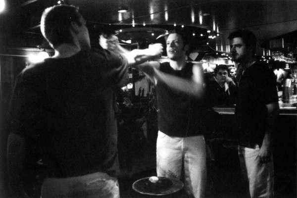 """Voorstelling """"Zand Erover"""" tijdens Cafetheaterfestival 2005 Utrecht"""