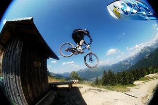 Ik in de Alpen Zomer 2005