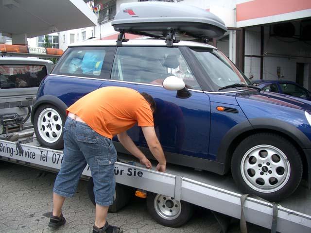 autovakantie part 2: pech met spleedt
