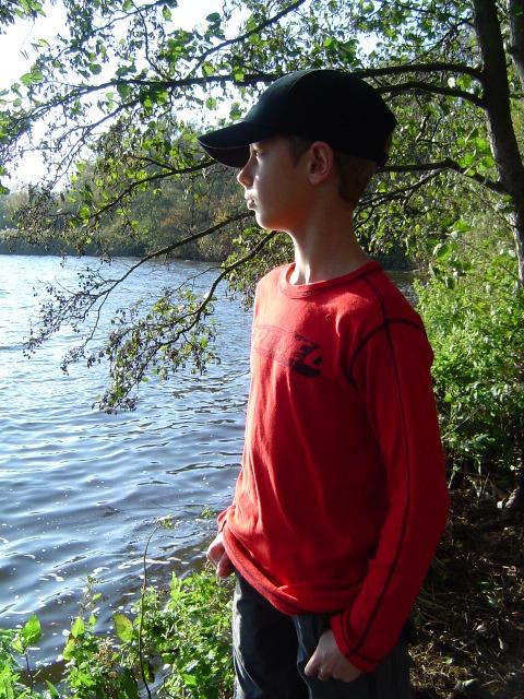 Ik in het Kralingse Bos