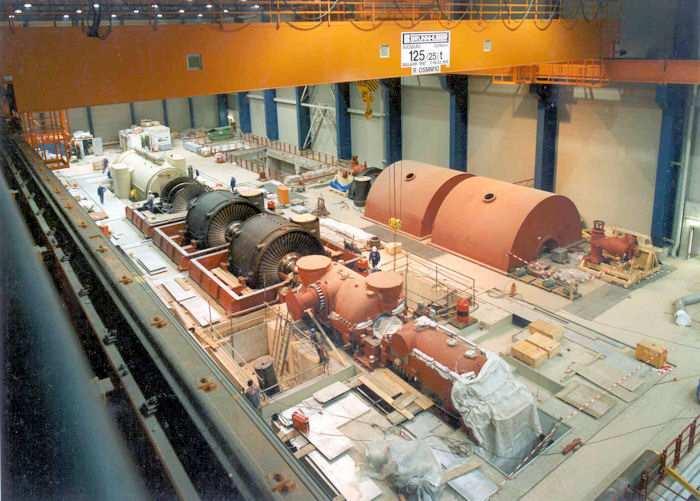 Stoomturbine kraftwerk Lippendorf: Copyright Andreas Kunz