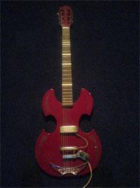 Mijn Nostalgische gitaar.