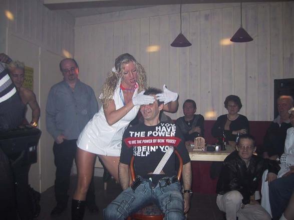 Sexy verpleegsterke was voor mij aan \