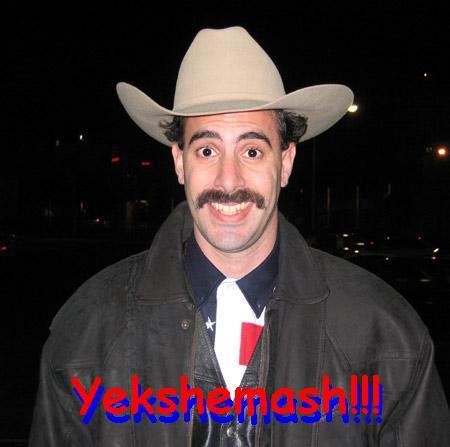 My name Borat. I like you, you like me?