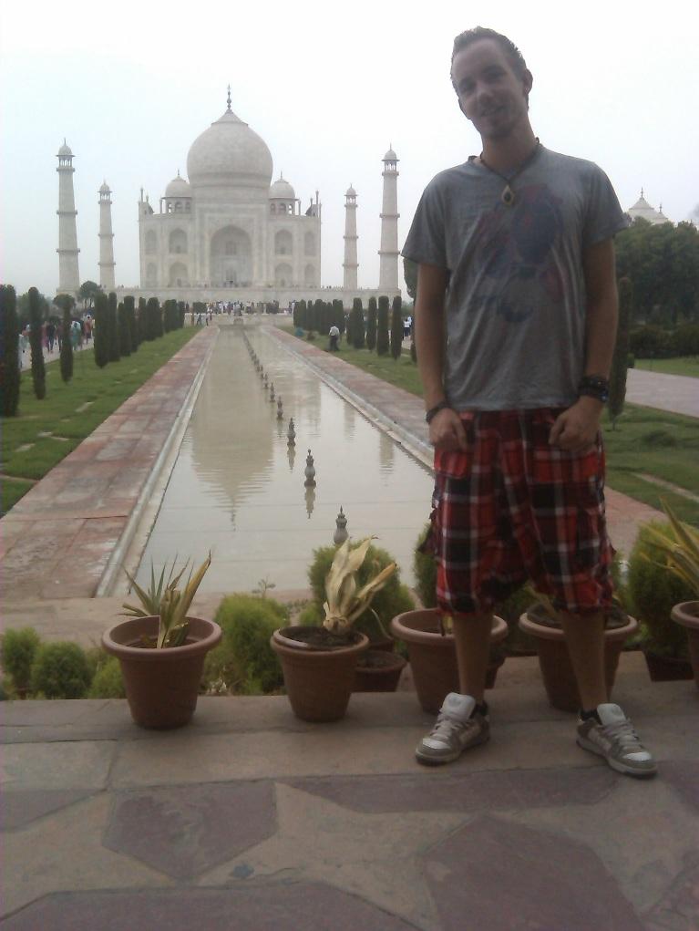 Reem @ Taj Mahal @ Half jaar India