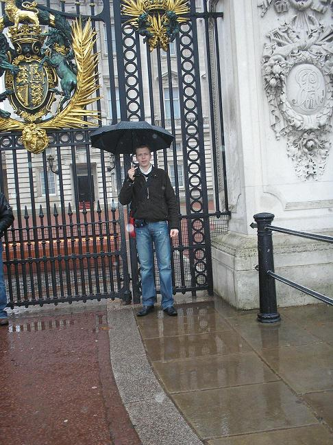 Mark @ Buckingham Palace