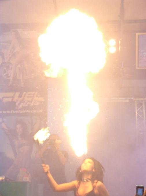 Von spitting fire