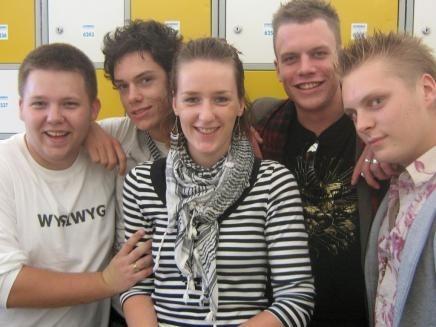 Met de mannen op Mysteryland 2006