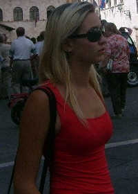 In Assisi, Italie