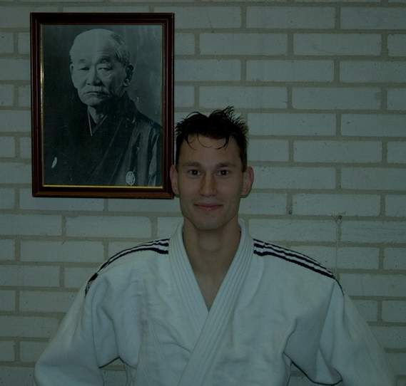 Menno in zijn Judogi