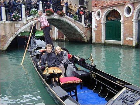 Romantische gondelvaart in Venetië met Rick