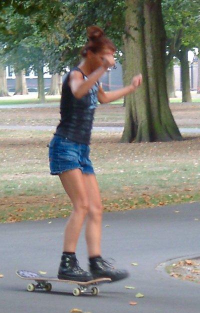 Otherside on Skateboard