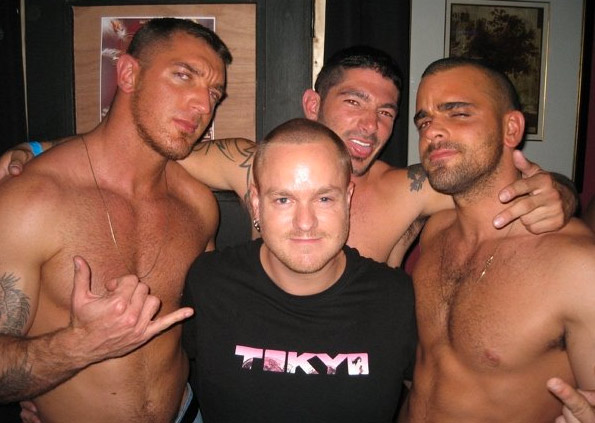 Met Francesco, Johnny & Damien @ Hustlaball, London.