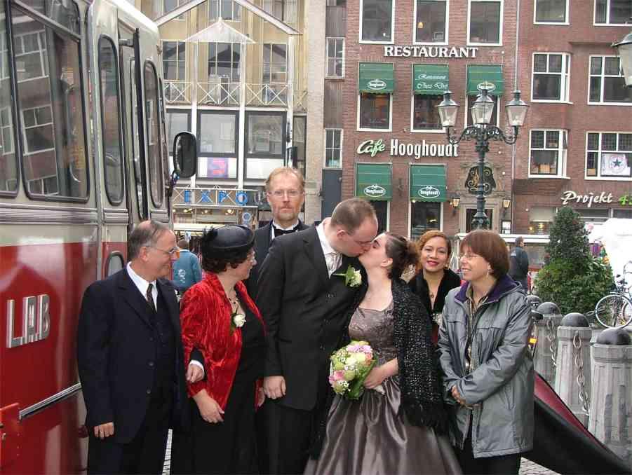 14-11-2003 Getrouwd! Foto nr 3.