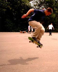 Skateboarden ! [=