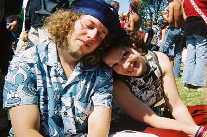 Met Webby op Parkpop (2003)