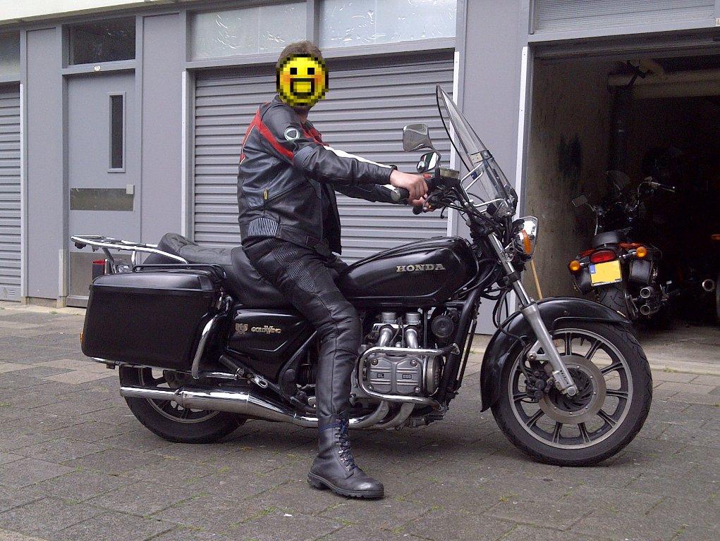 Wingetje O+ gl1100 1983