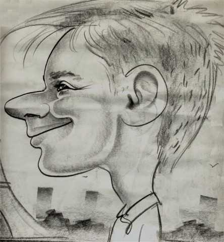 moi als karikatuur
