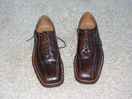 Nieuwe schoenen bruin :-]