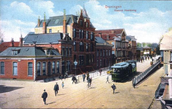 Mijn prachtige huis aan de Hereweg in Groningen (die met dat torentje)