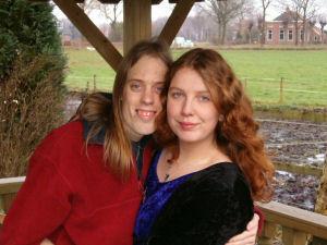 Ik met Marchien in 2004