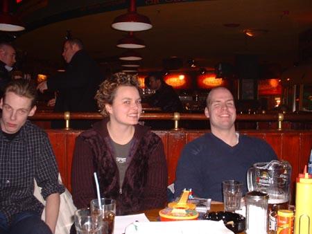 Met broer en vriendje :)