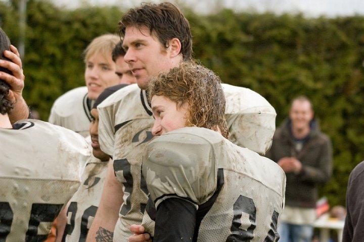Ik met football