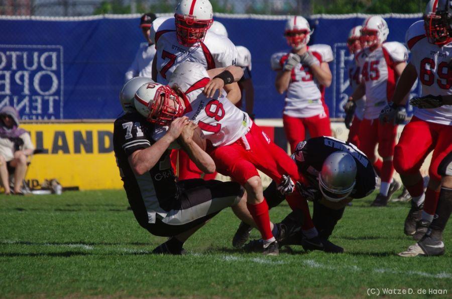 ik maak een tackle