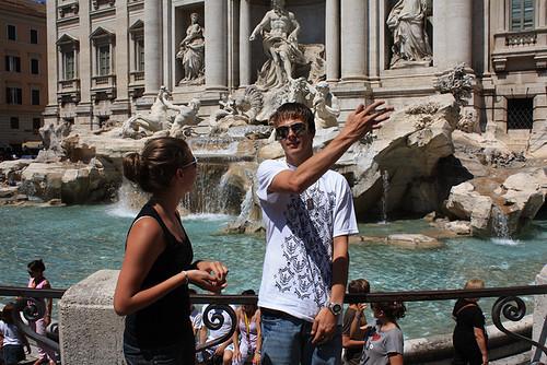 Trevie fontein | Rome 2009