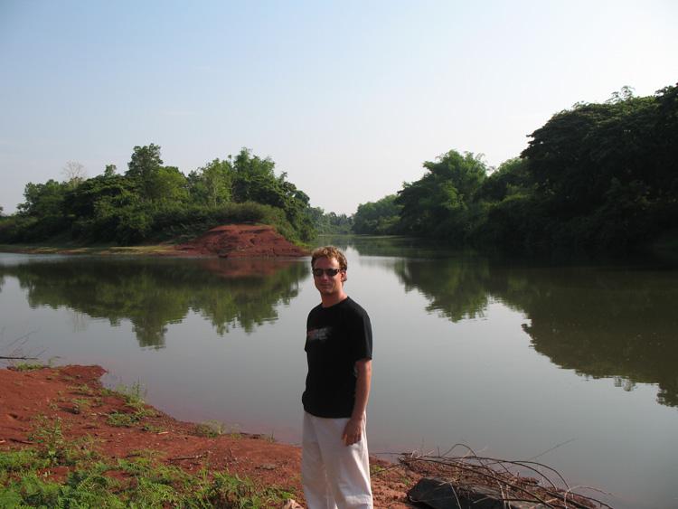 Rivier in Thailand