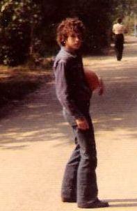 Als jonge tiener