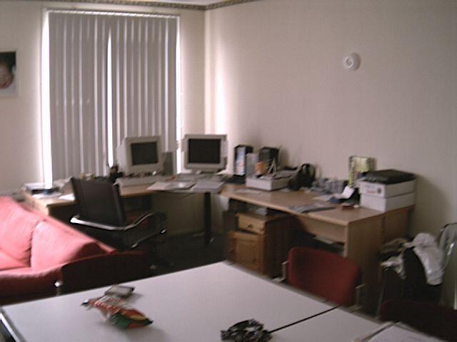 De computerhoek oftewel mijn heiligdom.