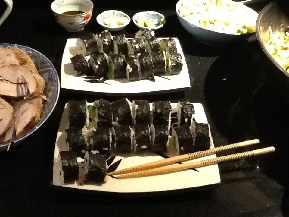 Sushi van chef Domnivoor