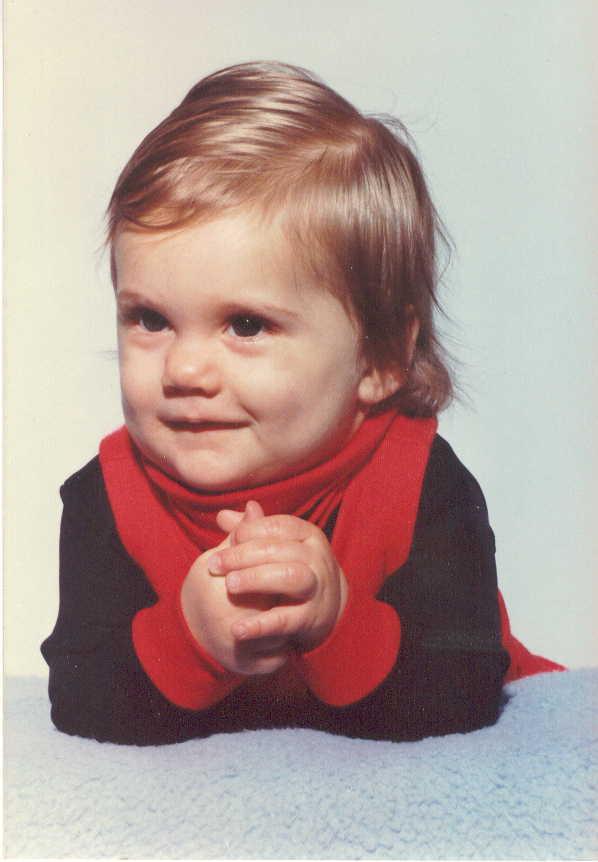 Toen ik nog lief, klein en onschuldig was :)