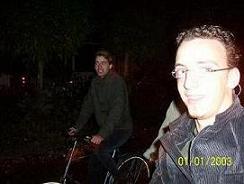 fietsen en foto maken tegelijk