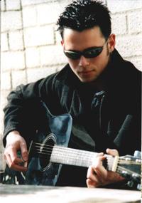 ik en mijn  guitarra