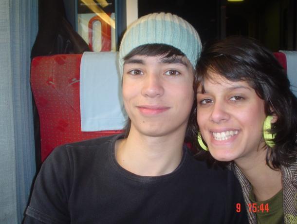 Jony en ik in de Thalys!